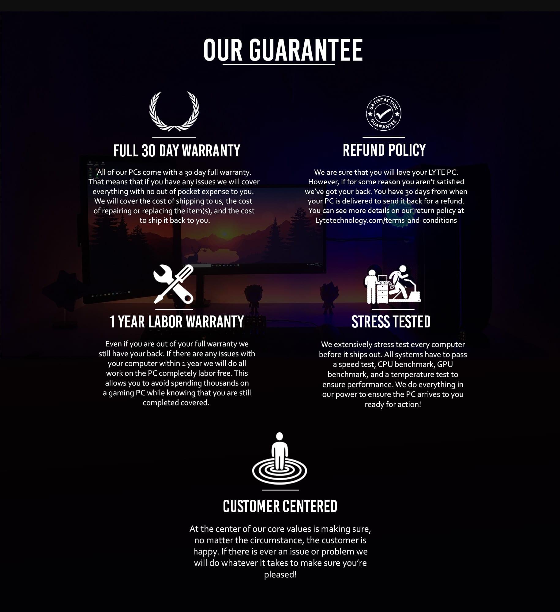 Warranty Page For Website V2