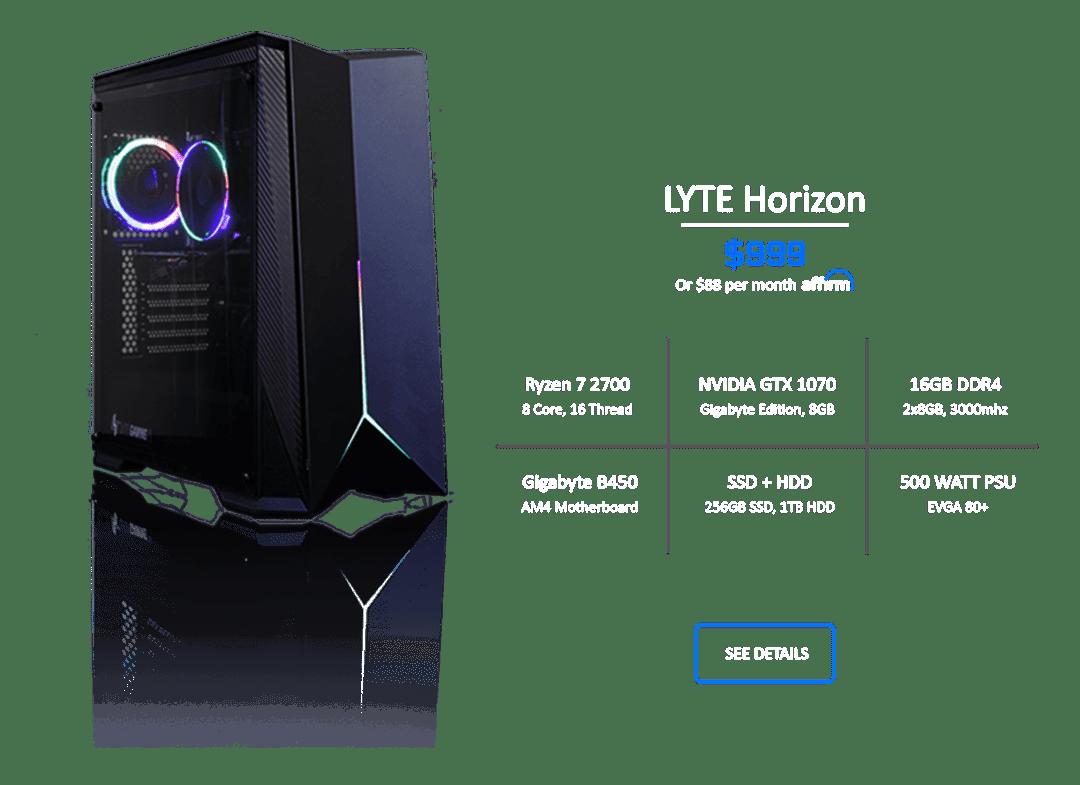Horizon Hompage V2